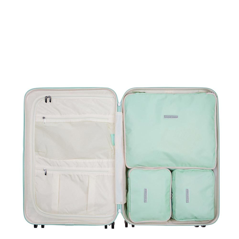 SuitSuit Fabulous Fifties Packing Cube Set Medium 66 cm Luminous Mint