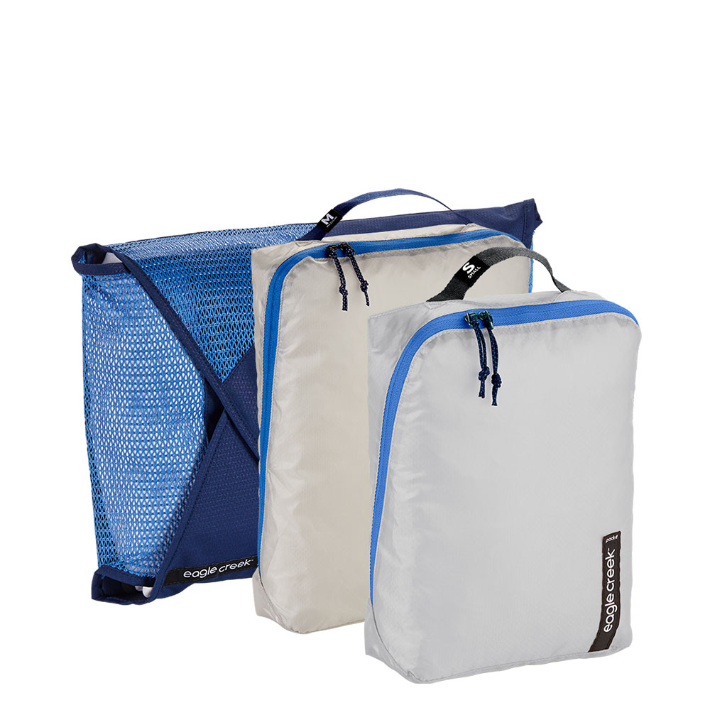 Eagle Creek Pack-It Starter Set Aizome Blue Grey