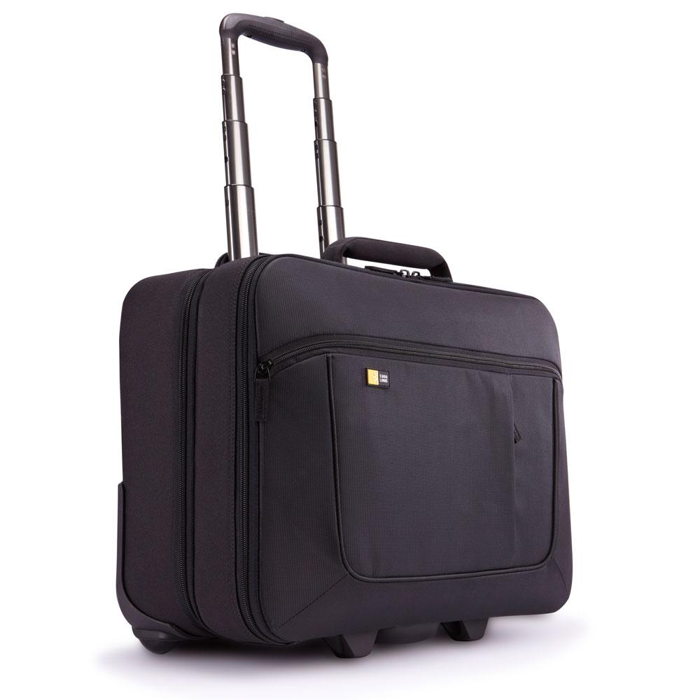 "Afbeelding van Case Logic ANR 317 Laptoptrolley 17.3"" Black Laptop Trolleys"