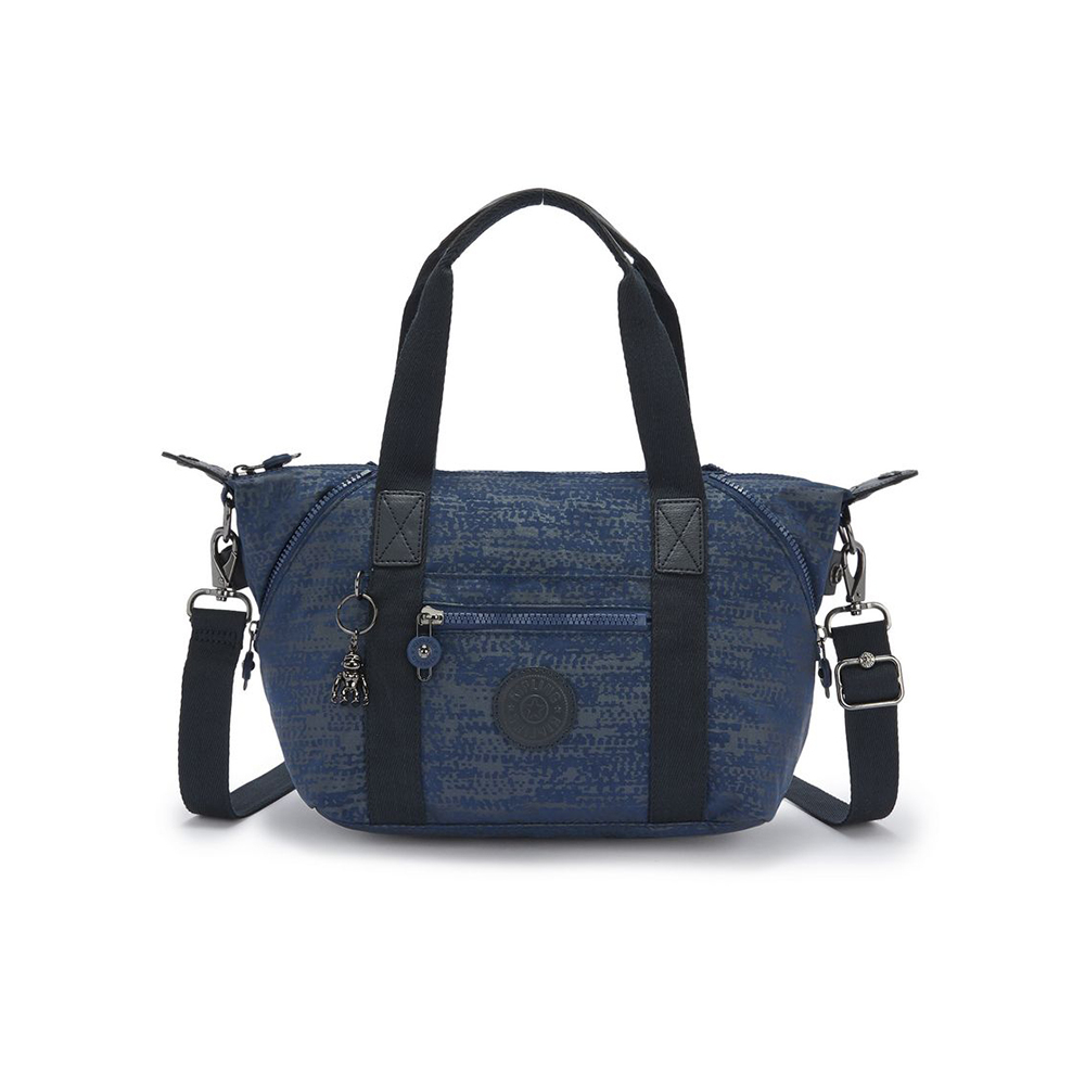 Kipling Art Mini Handtas Blue Eclipse Print