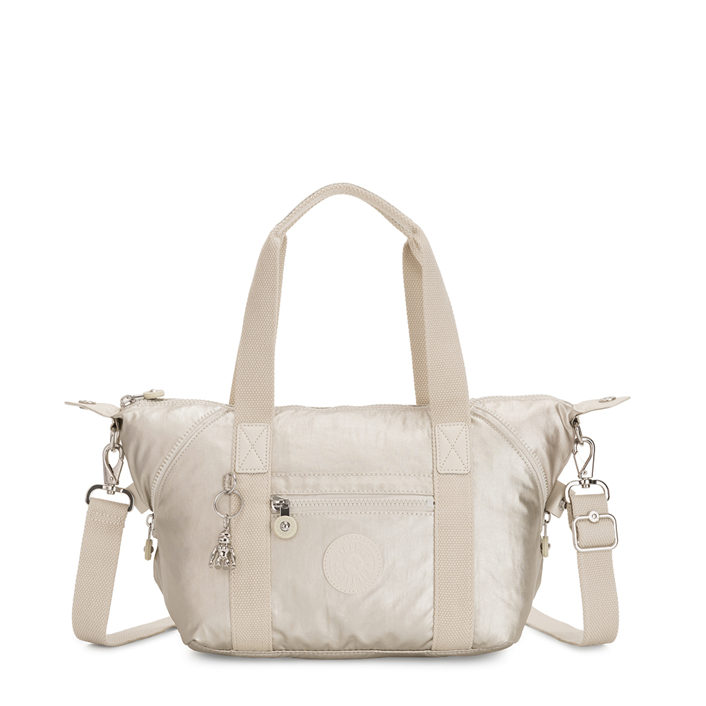 Kipling Art Mini Handtas Cloud Metal
