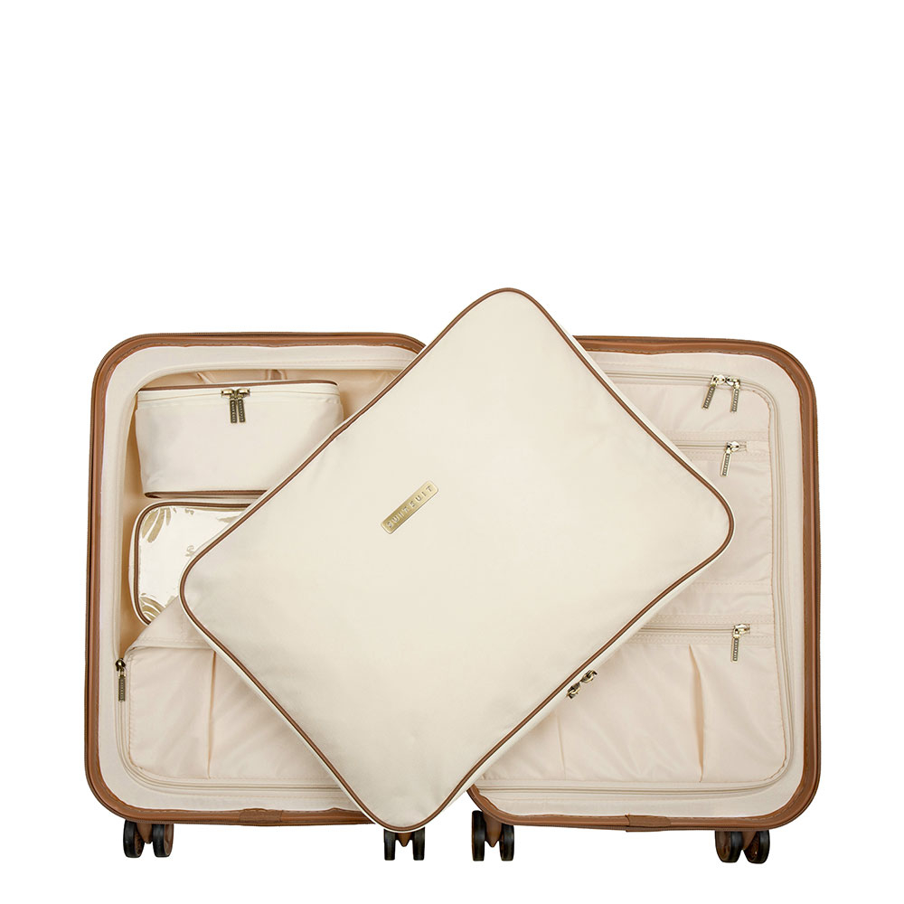 SuitSuit Fab Seventies Packing Cube Set 55 cm Antique White