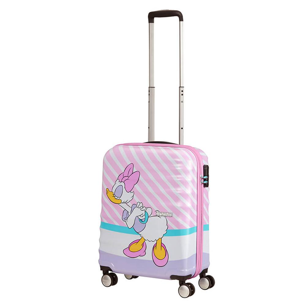 American Tourister Wavebreaker Disney Spinner 55 Daisy Pink Kiss