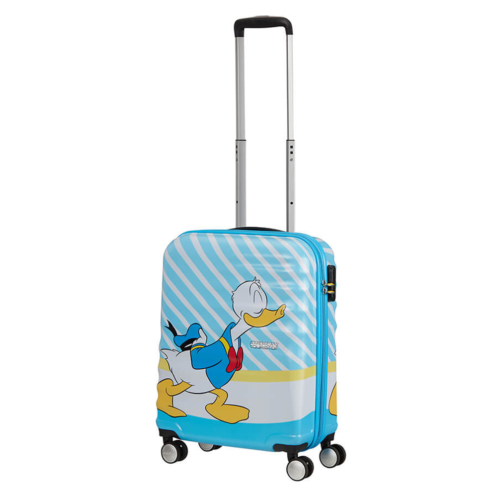 American Tourister Wavebreaker Disney Spinner 55 Donald Blue Kiss
