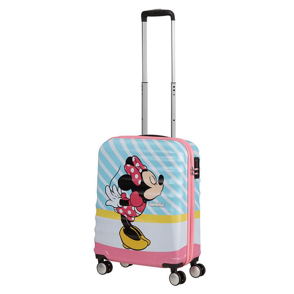 American Tourister Wavebreaker Disney Spinner 55 Minnie Pink Kiss