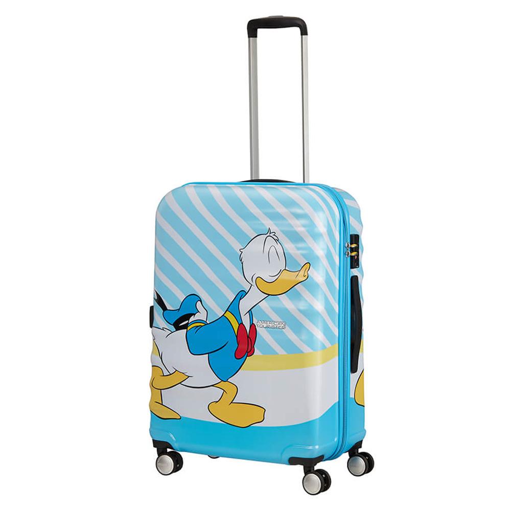American Tourister Wavebreaker Disney Spinner 67 Donald Blue Kiss