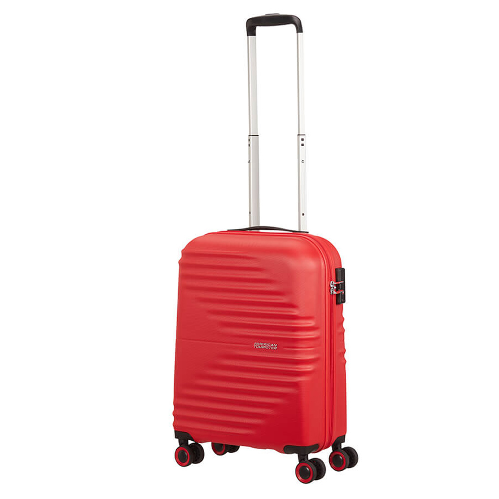 American Tourister Wavetwister Spinner 55 Vivid Red