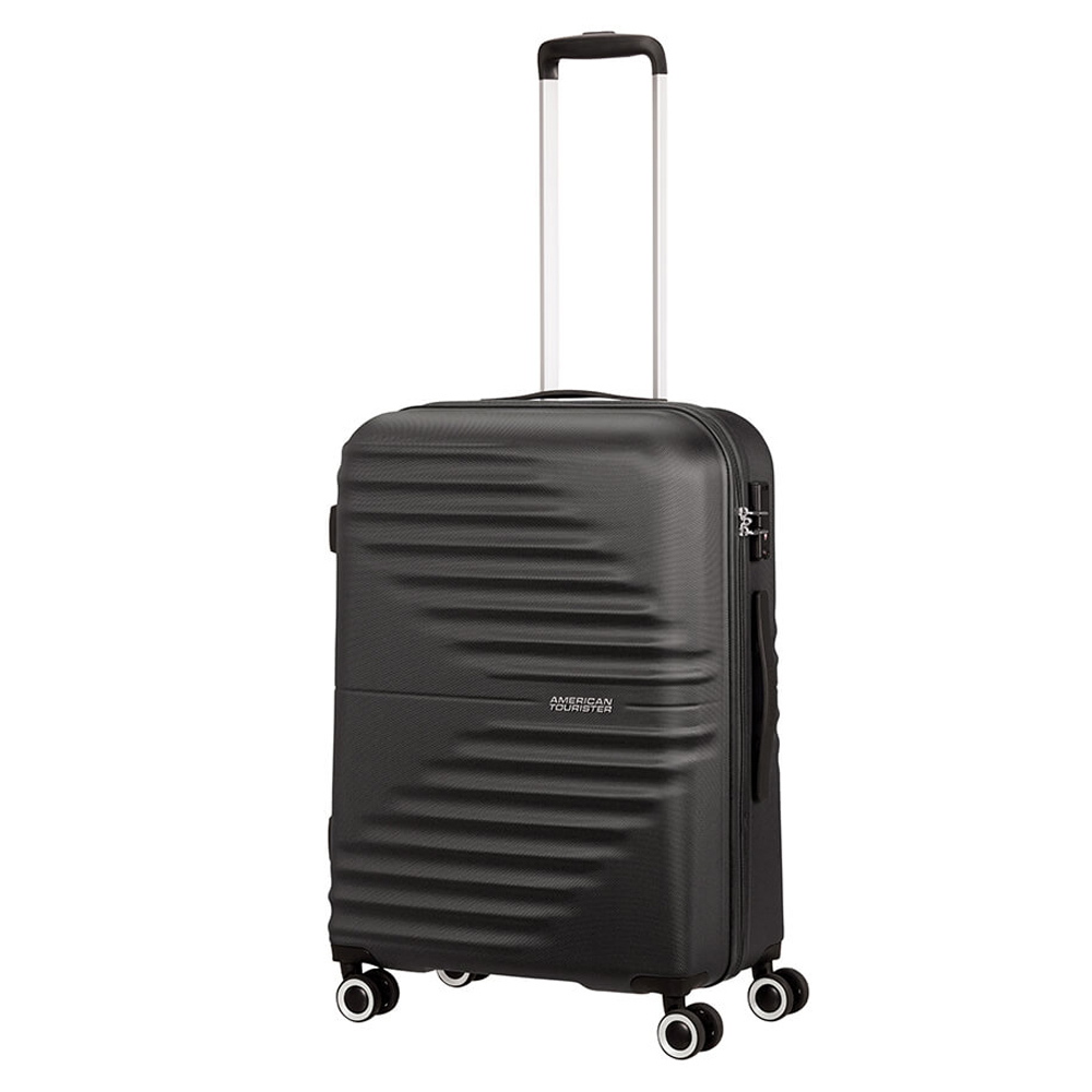 American Tourister Wavetwister Spinner 66 Universe Black