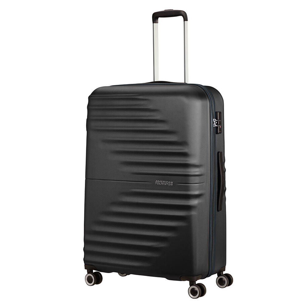 American Tourister Wavetwister Spinner 77 Universe Black