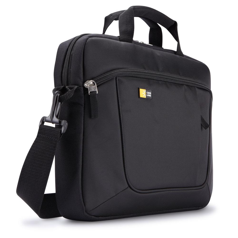 "Afbeelding van Case Logic AUA 314 Ultrabook 14.1"" Black Laptop Schoudertassen"