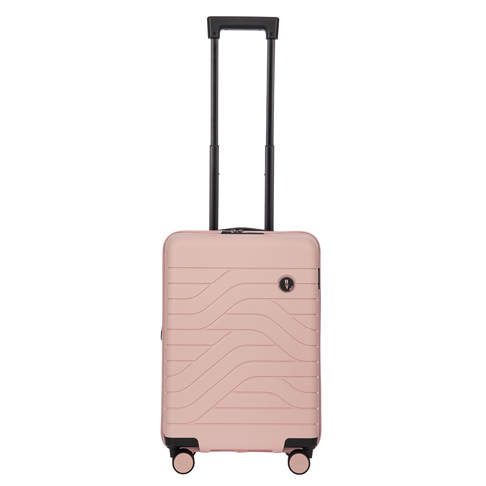 Bric's Be Young Ulisse Trolley 55 Expandable Pearl Pink