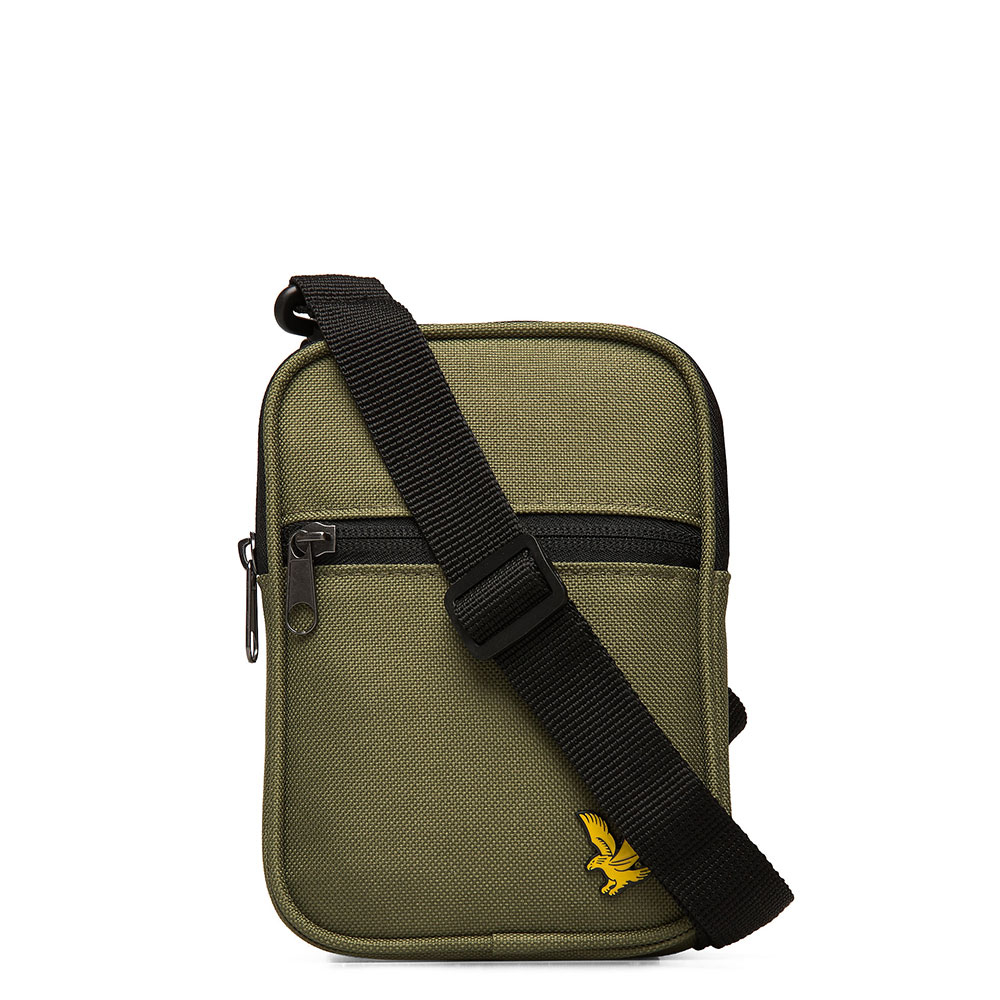 Lyle & Scott Core Mini Messenger Lichen Green