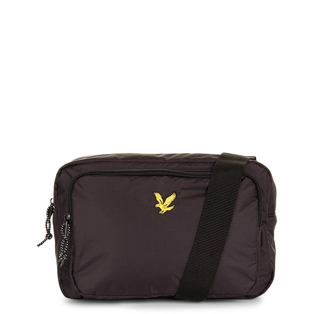 Lyle & Scott Wadded Side Bag True Black