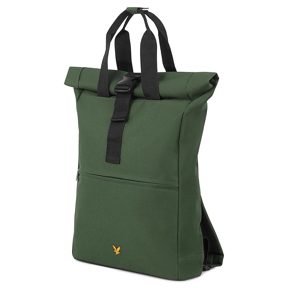 Lyle & Scott Roll Top Backpack Jade Green