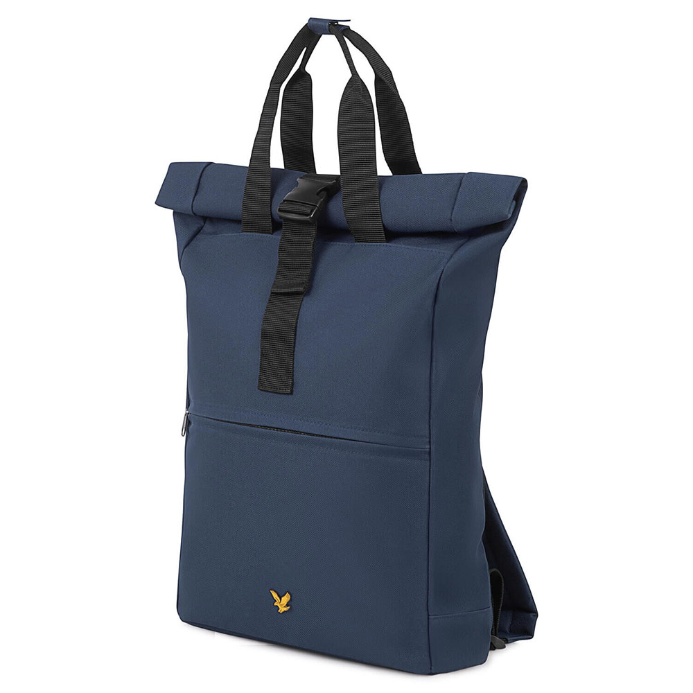 Lyle & Scott Roll Top Backpack Navy