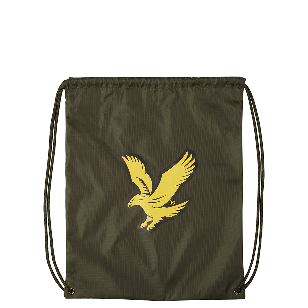 Lyle & Scott Core Gym Sack Woodland Green