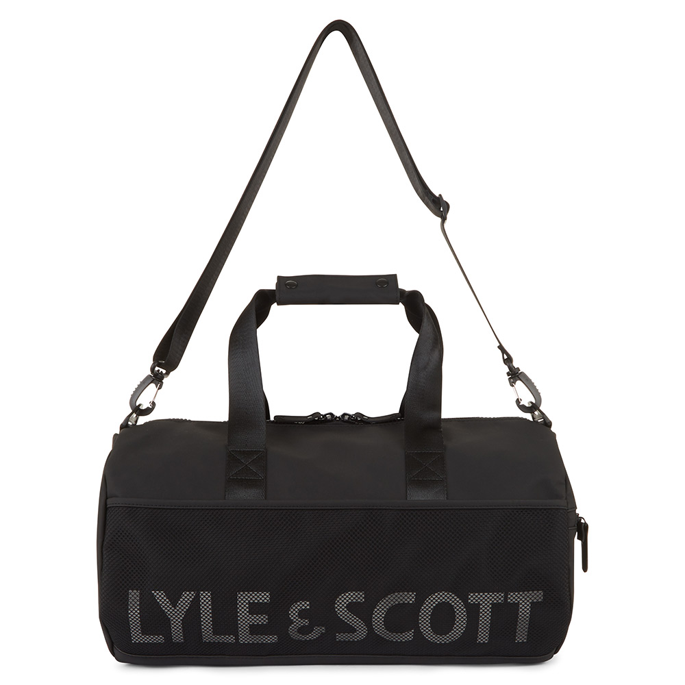Lyle Scott Core Over Night Bag True Black