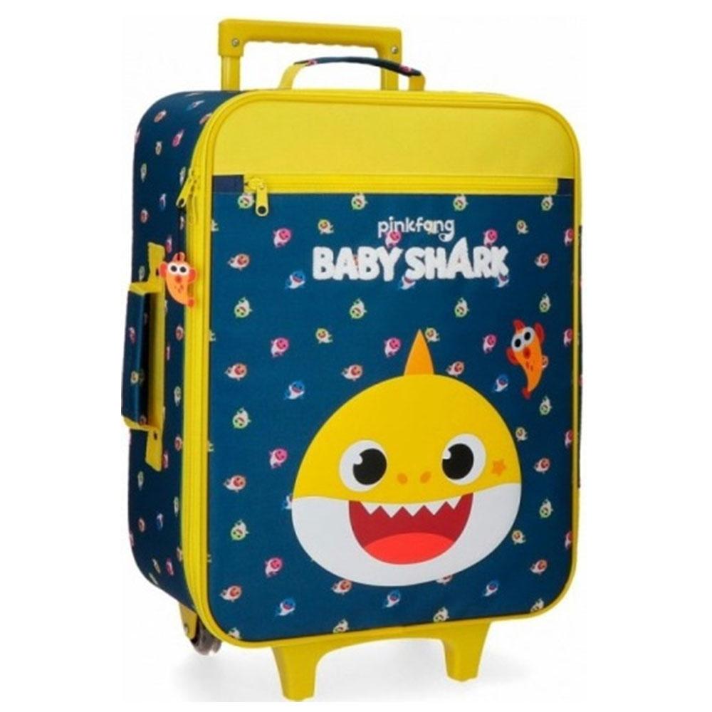 Disney Soft Trolley 50 Cm 2 Wheels Baby Shark My Good Friend