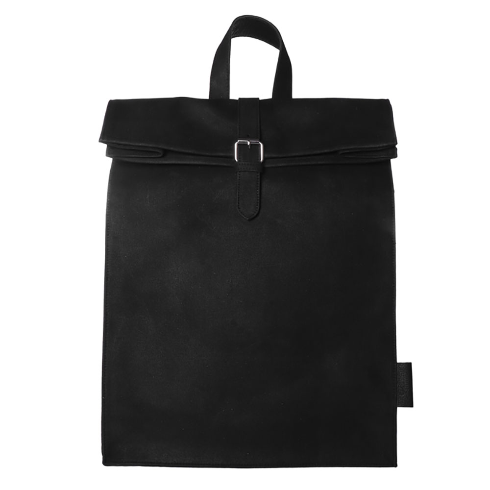 Laauw AMS The Nine Streets Backpack Black Canvas
