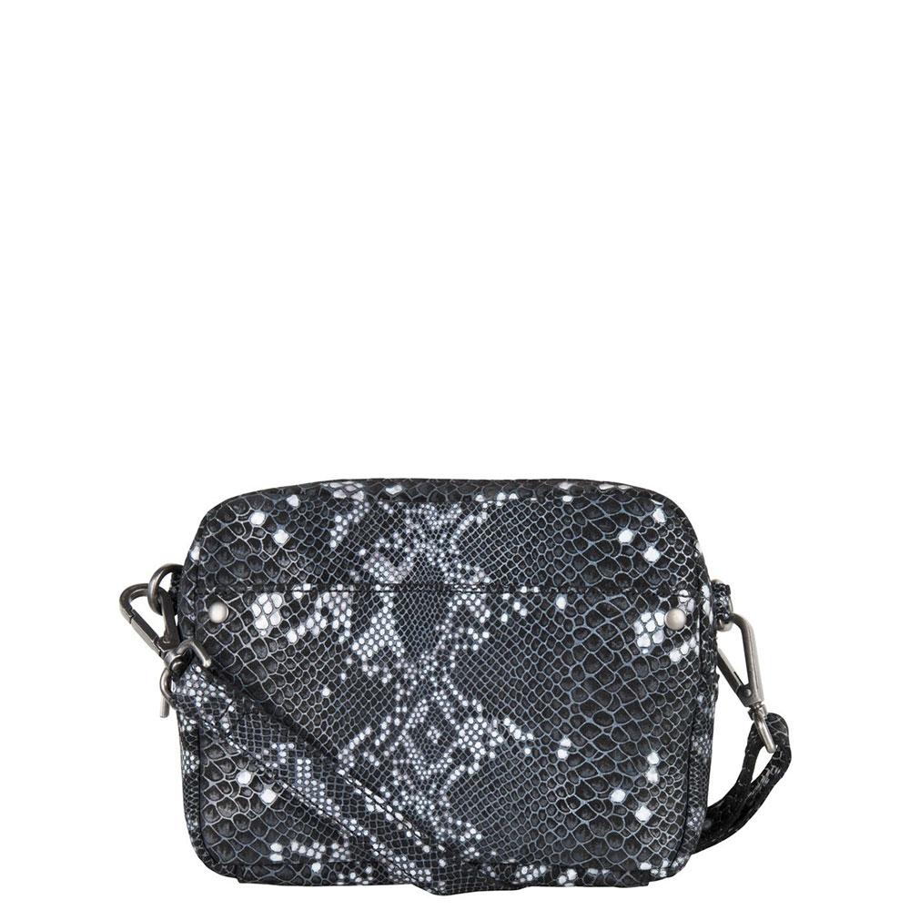Cowboysbag X Bobbie Bodt Bag Bobbie Schoudertas Snake Black And White