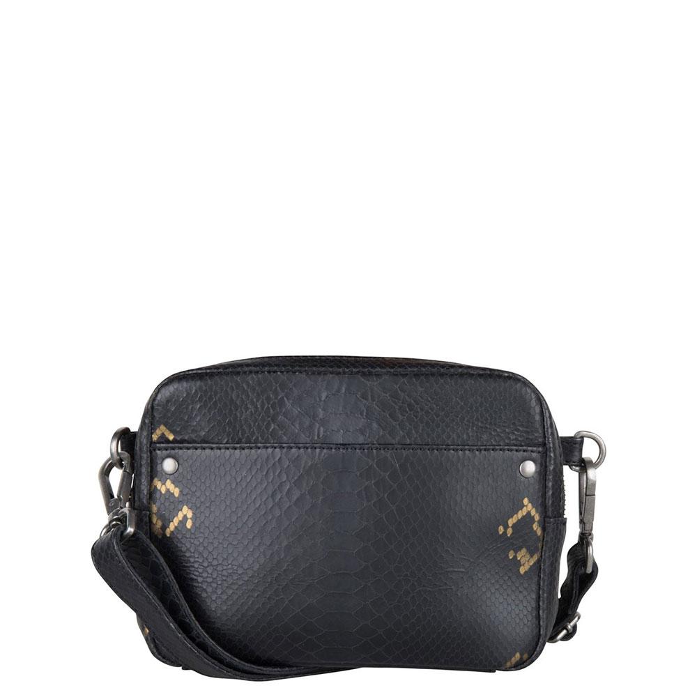 Cowboysbag X Bobbie Bodt Bag Bobbie Schoudertas Snake Black And Gold