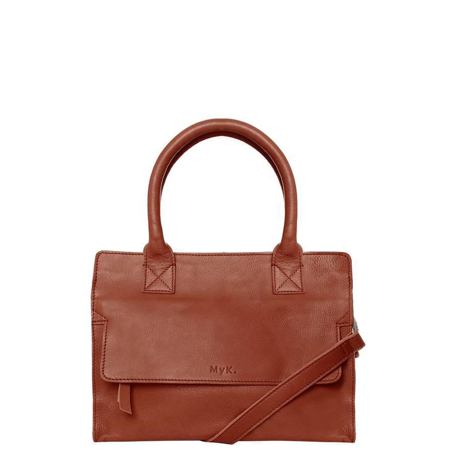 MyK Cityhopper Bag Chestnut