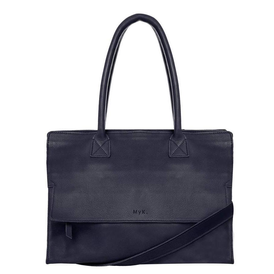 MyK. Mustsee Bag midnight blue