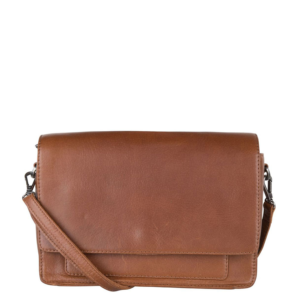 Cowboysbag X Bobbie Bodt Bag Onyx Schoudertas Tan