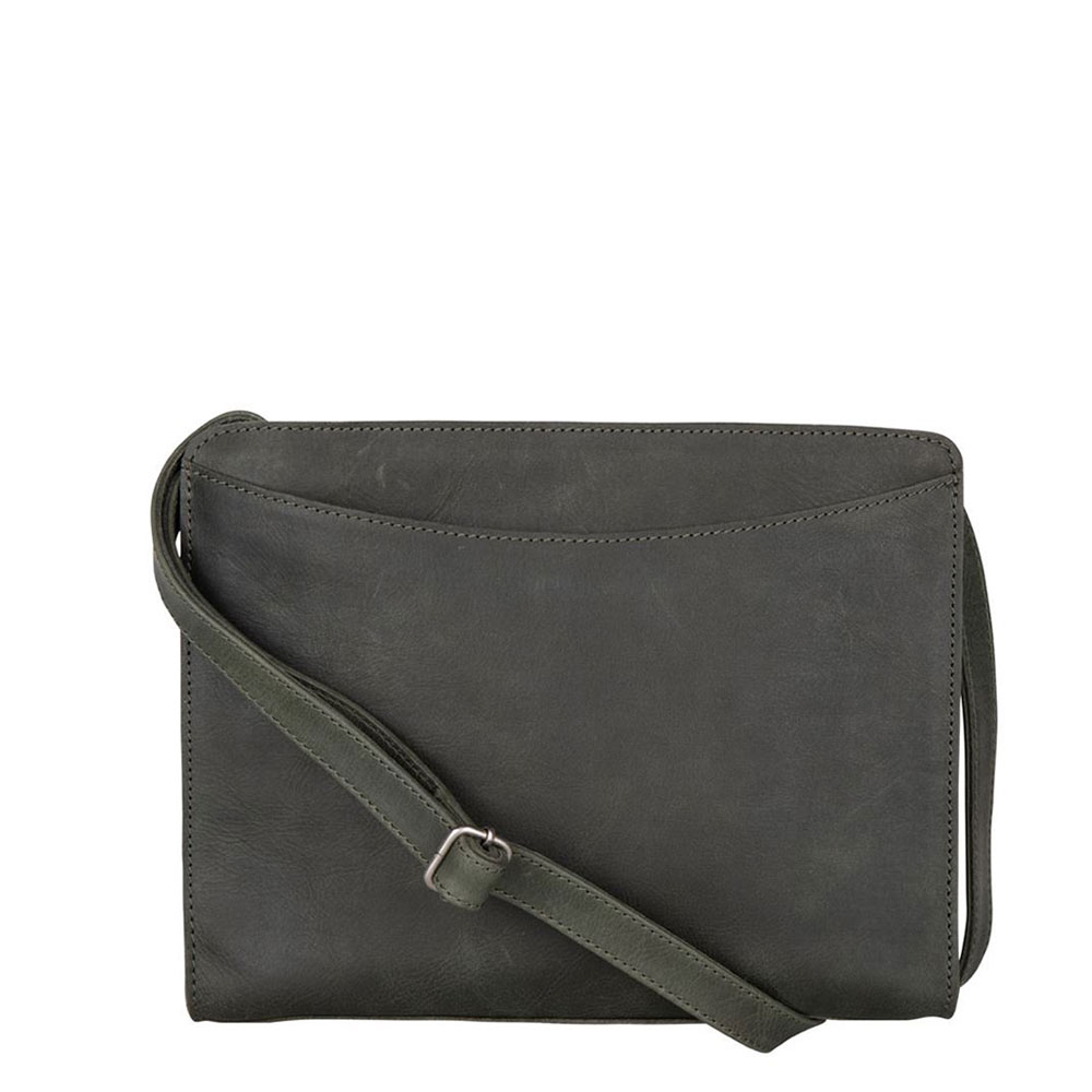 Cowboysbag Clean Bag Rye Schoudertas Dark Green