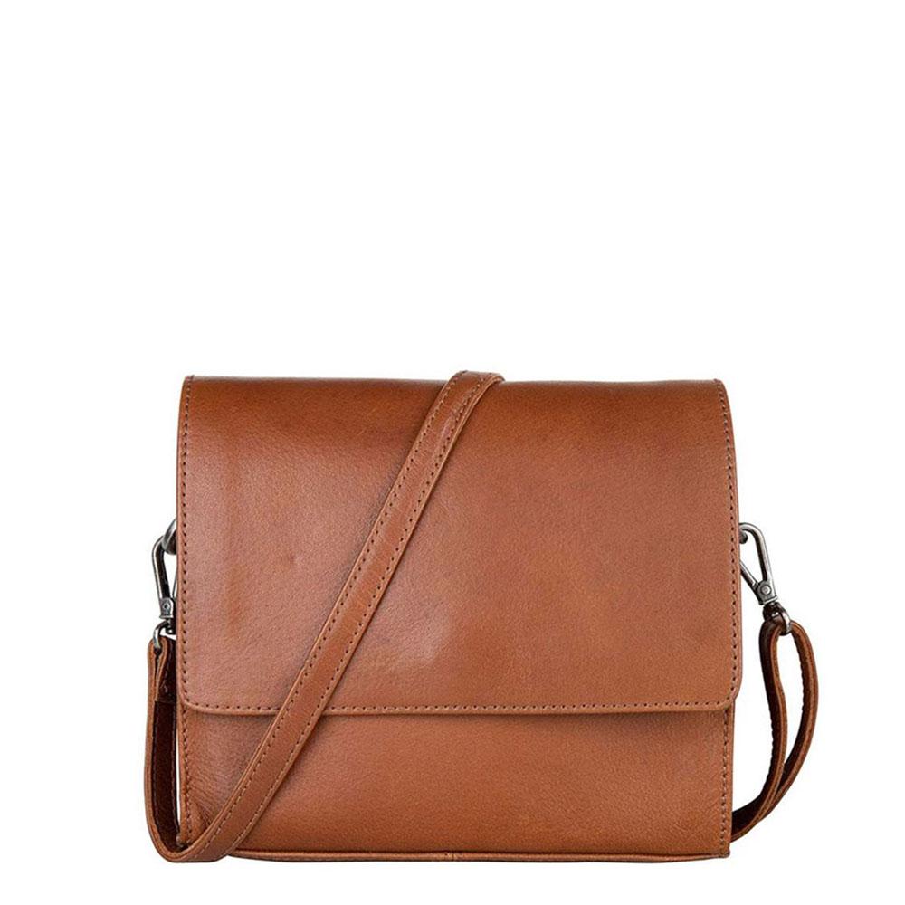 Cowboysbag X Bobbie Bodt Bag Sapphire Schoudertas Tan