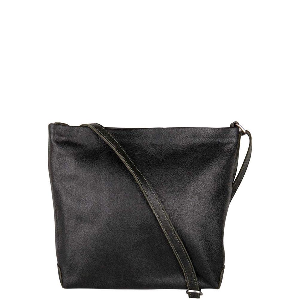 Cowboysbag Bag Walmer Schoudertas Dark Green