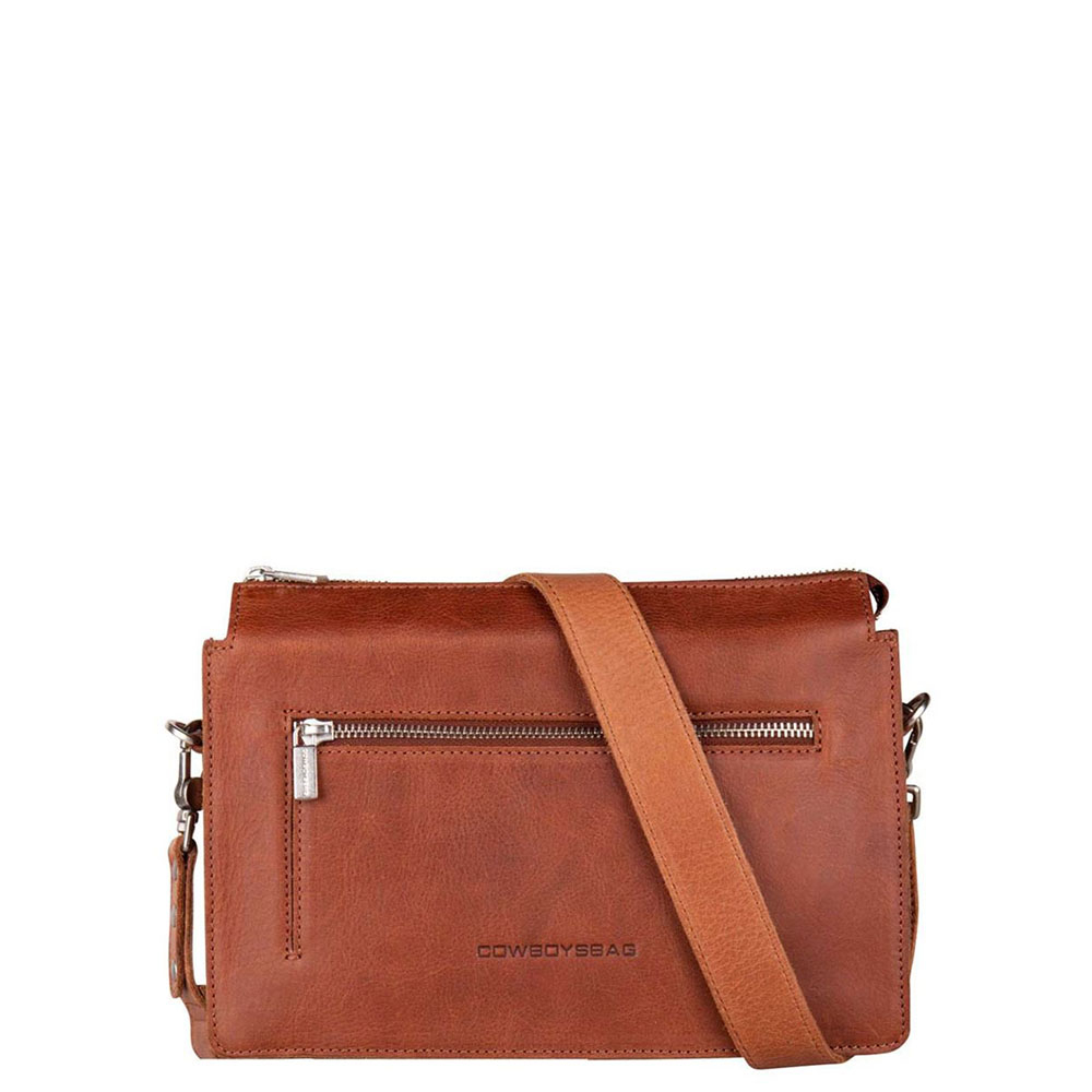 Cowboysbag Bag Williston Schoudertas Cognac