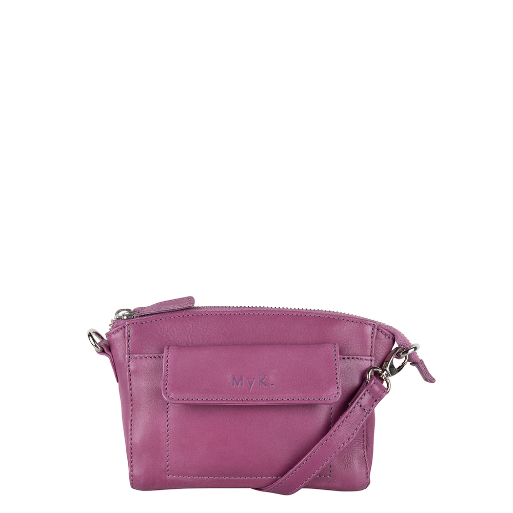 MyK Bag Carlton Crossover Plum