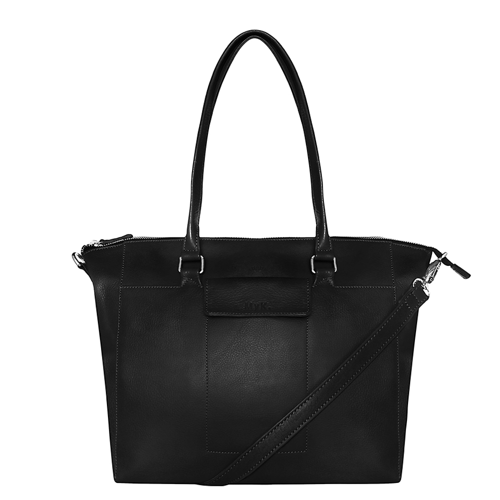 MyK Bag Carlyle Schoudertas Black