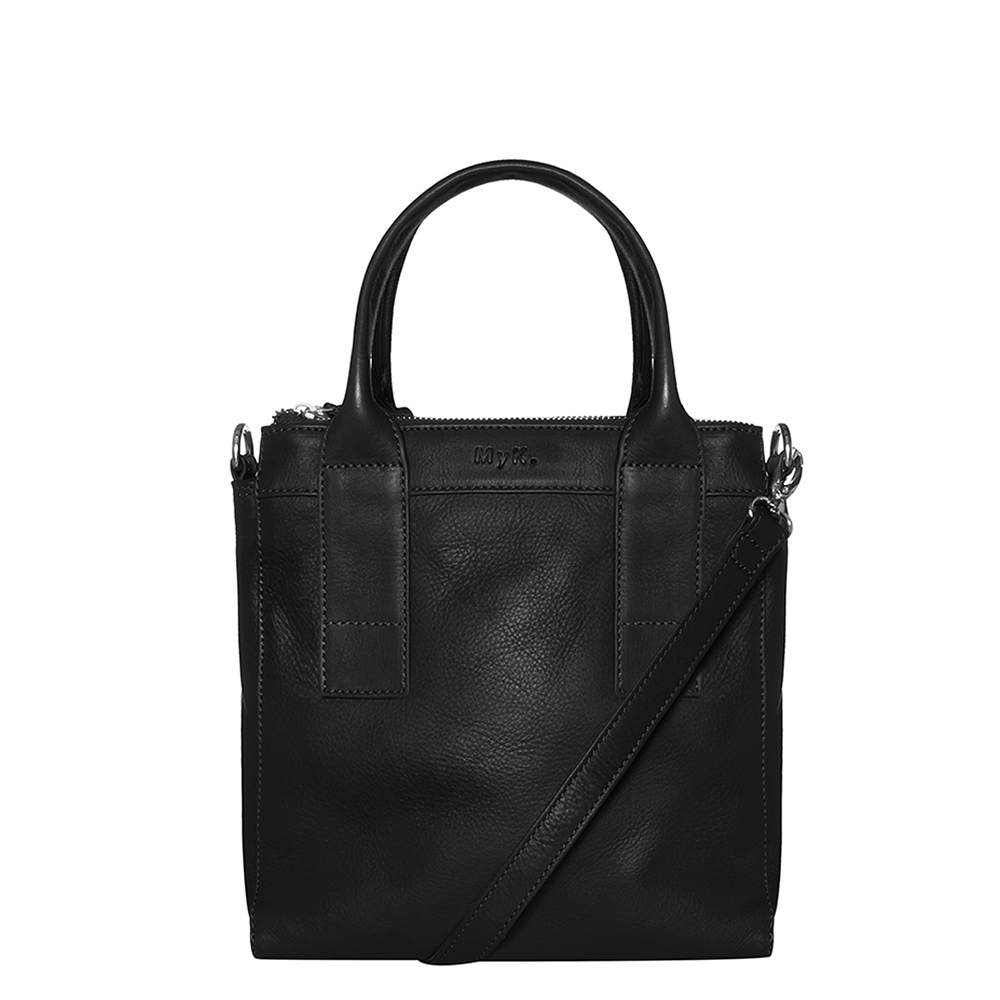 MyK Bag Ivy Schoudertas Black