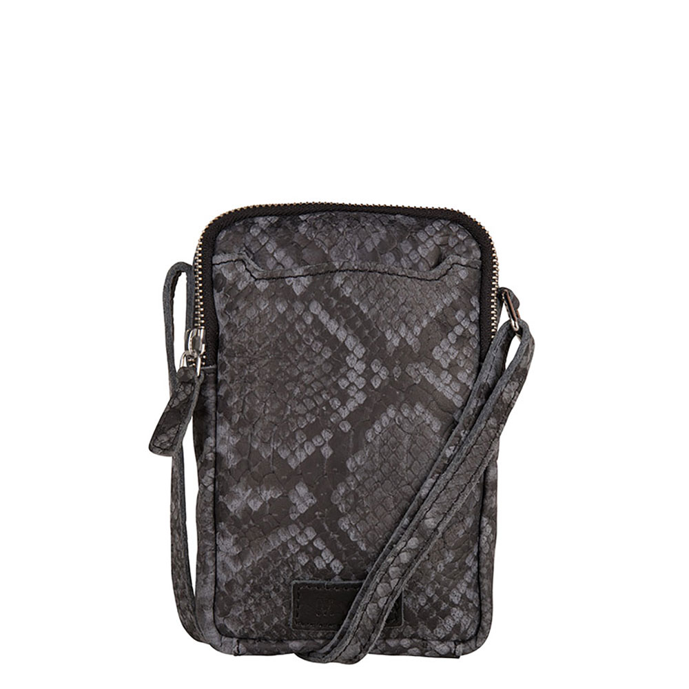 MyK Bag Lake Crossover Schoudertas Python Grey