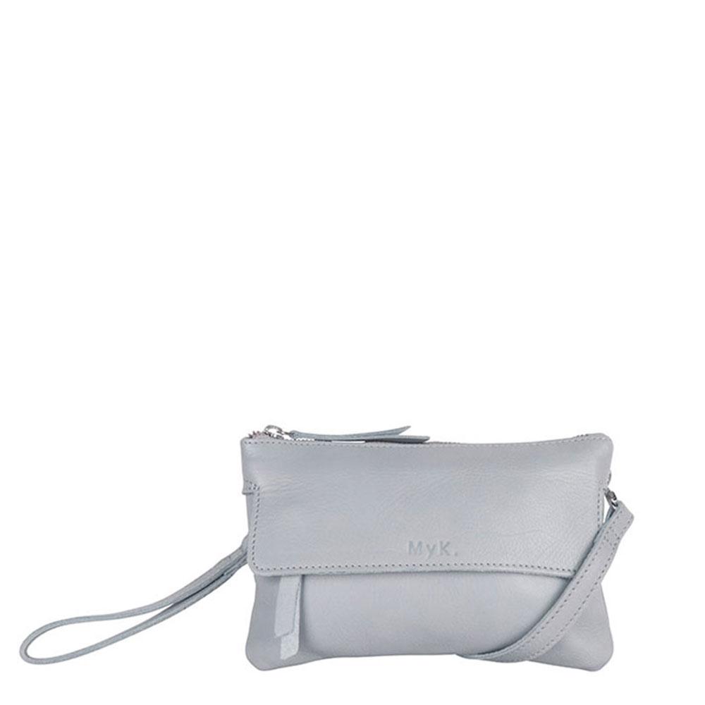 MyK Wannahave Bag Silver Grey