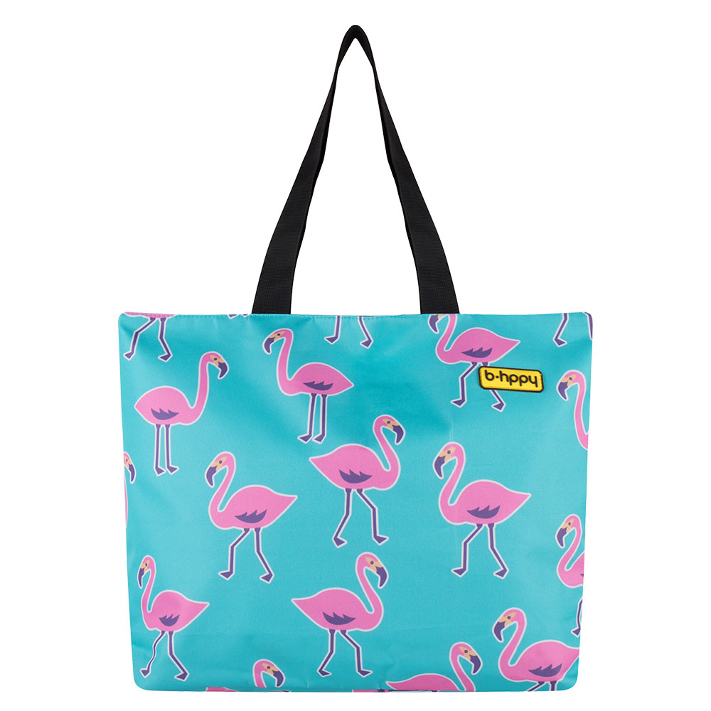 BHPPY Strandtas Go Flamingo