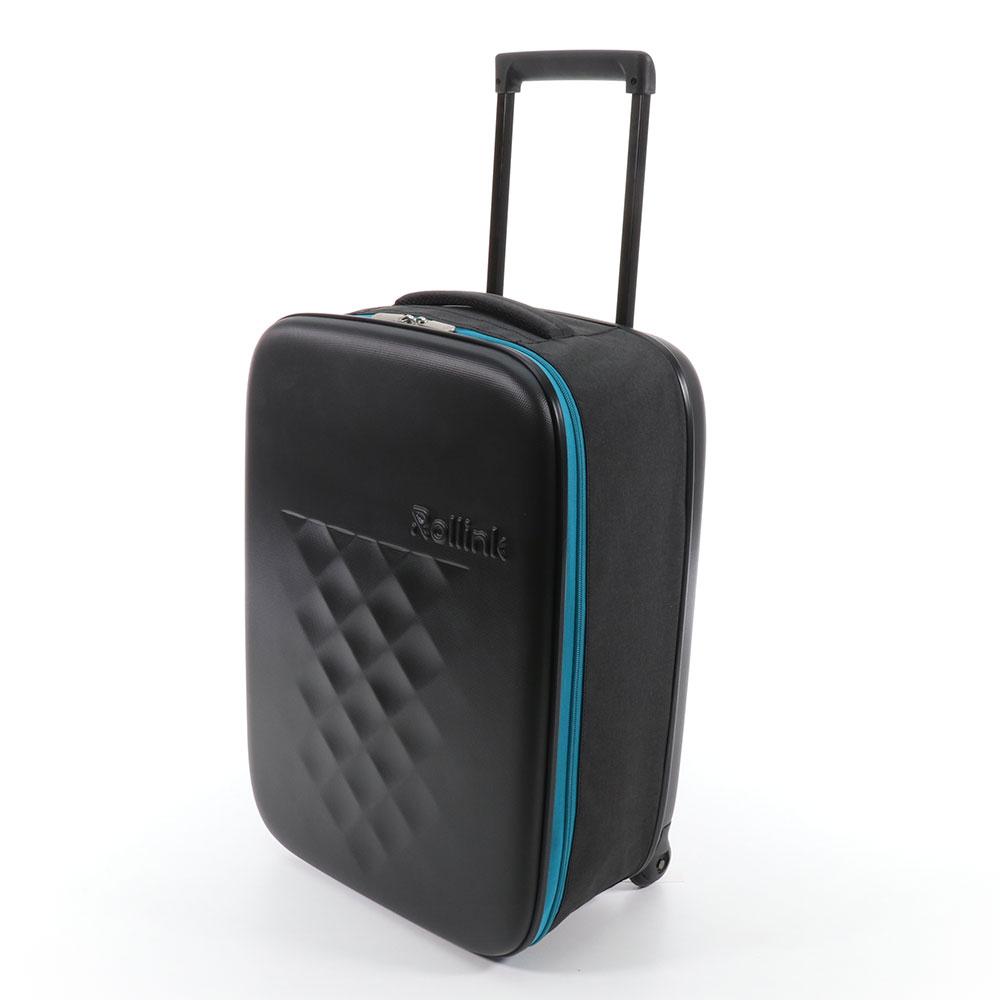 Rollink Flex Earth Opvouwbare Handbagage Koffer 55 Blue