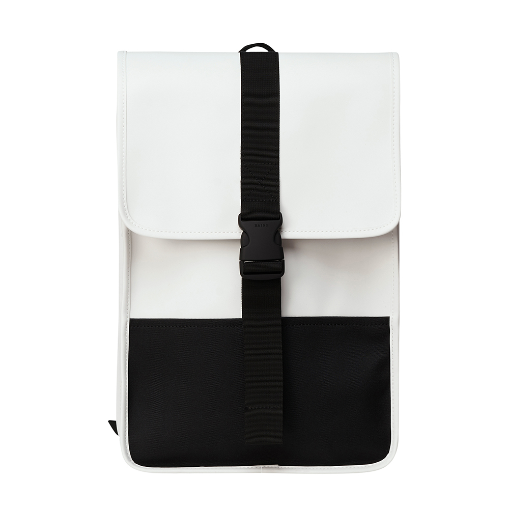 Rains Original Buckle Backpack Mini Off White