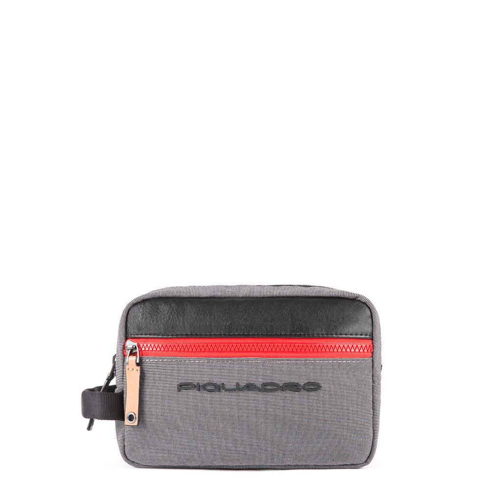Piquadro Blade Toiletry Bag Grey