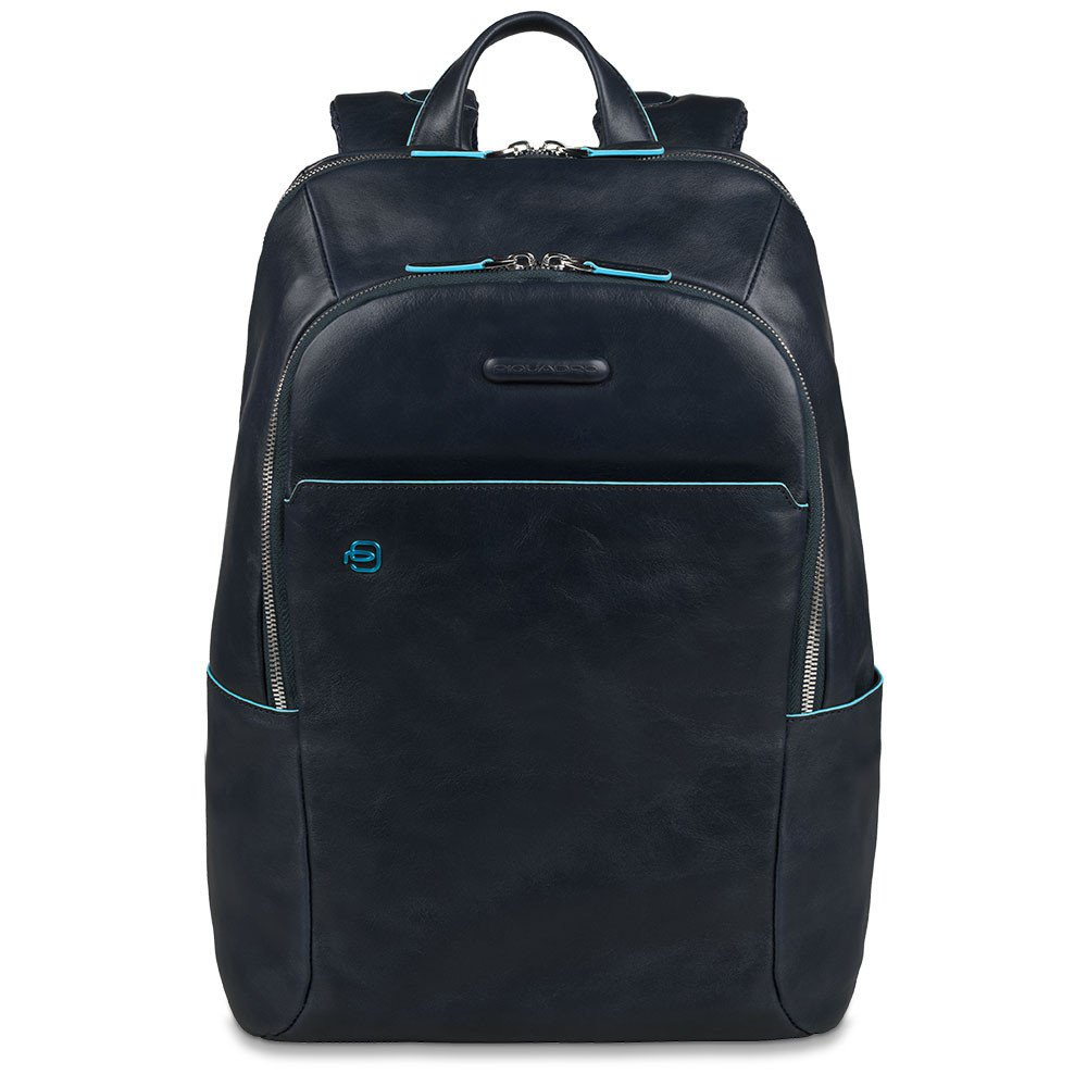 Piquadro Blue Square Computer Backpack 14 Night Blue