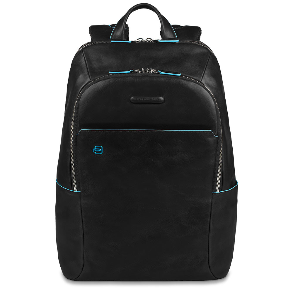 Piquadro Blue Square Computer Backpack 14 Black