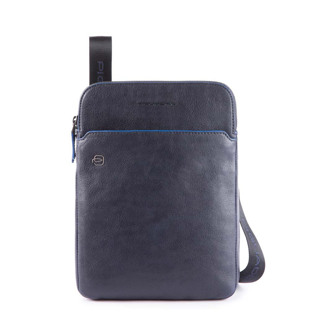 Piquadro Blue Square S Matte Crossbody Bag iPad 10