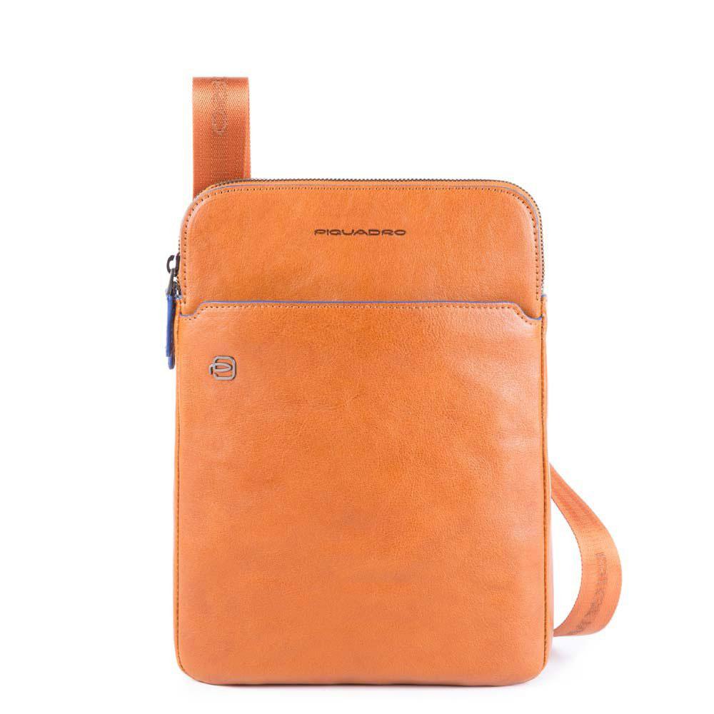 piquadro blue square s crossbody bag ca3978b2s cu cuoio