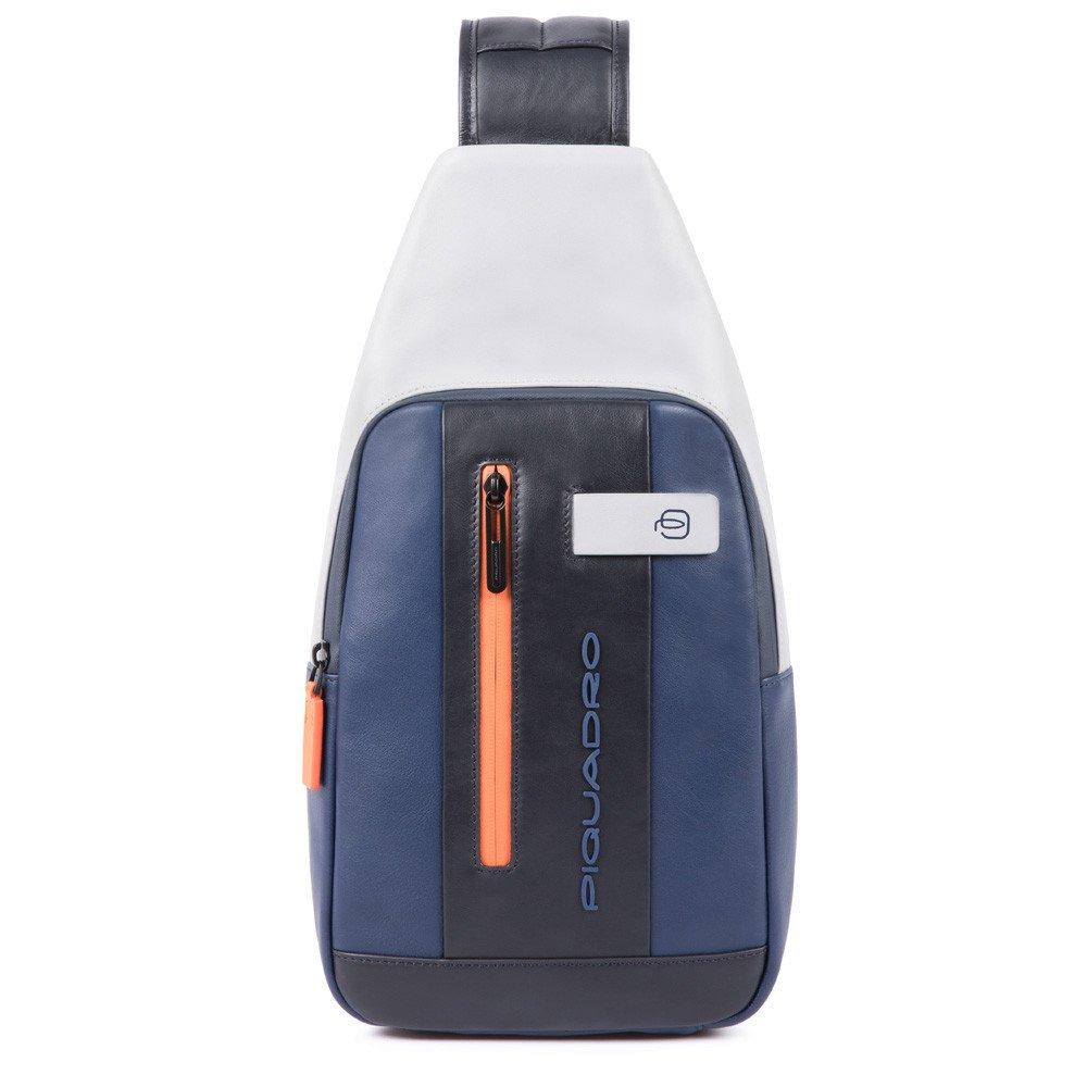 Piquadro Urban Mono Sling Bag Blue/Grey