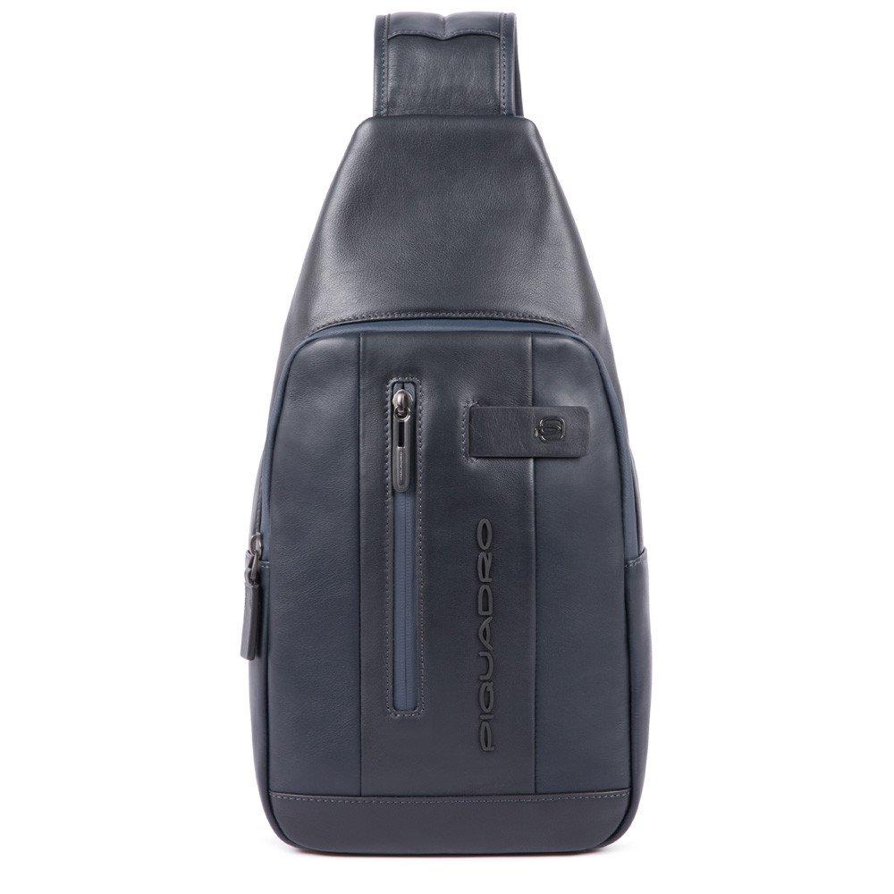 Piquadro Urban Mono Sling Bag Blue