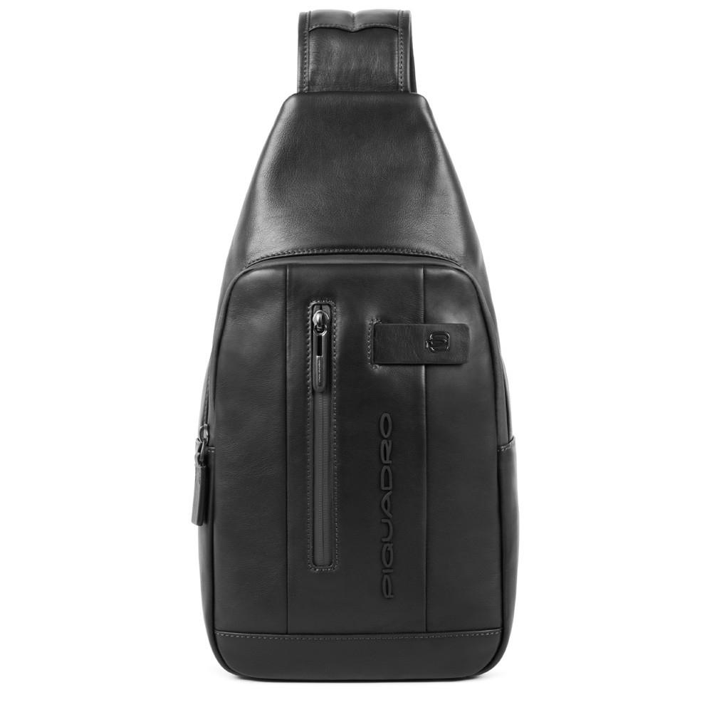 Piquadro Urban Mono Sling Bag Black