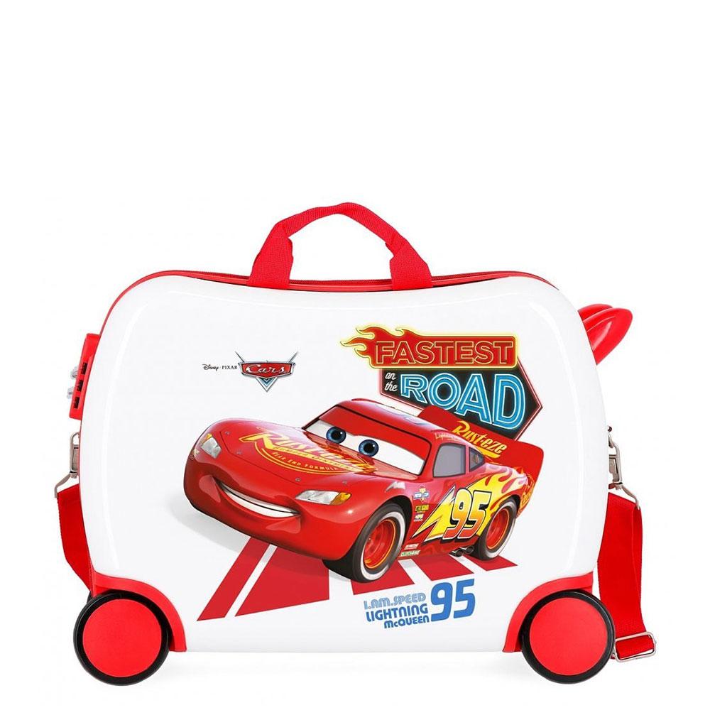 Disney Rolling Suitcase 4 Wheels Cars