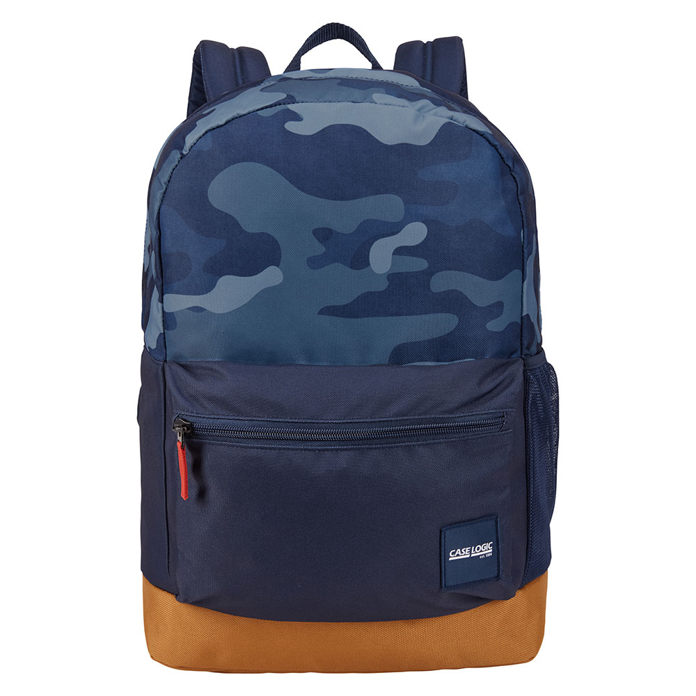 Case Logic Commence 24L Laptop Rugzak Dress Blue Camo/ Cumin